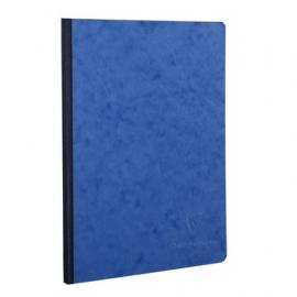 Notitieboek A5 blanco blauw