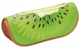 Fruit etui kunstleer kiwi (2323)