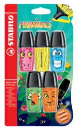 Stabilo Boss Mini Funimals
