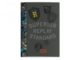 Replay boy's A4 schrift gelinieerd (5944)