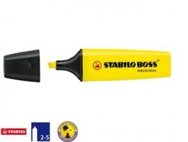 Stabilo Boss markeerstift fluor geel