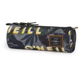 O'Neill boy's etui text groen/geel rond (9855)