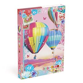 """Gingerbread opbergbox """"ballonnen"""""""