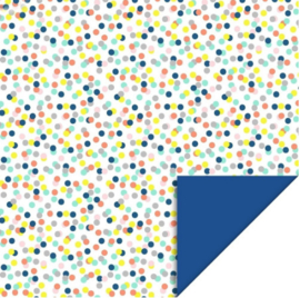 Kaftpapier dik Small Confetti Fluor (2102)