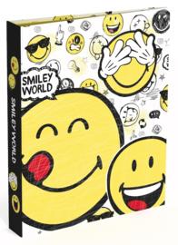 "Smileyworld 4r ringband wit ""3 smiley"" (2176)"