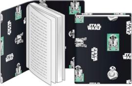 Rekbaar kaft Star Wars A4 R2D2 ((4483)