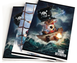 South Park A5 schriften piraat