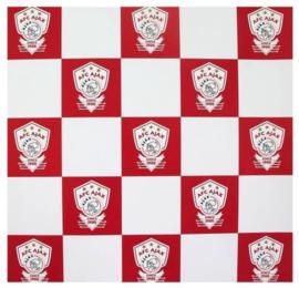 AFC Ajax kaftpapier rood/wit (1314)
