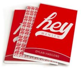 "Dylan Haegens A5 schriften ""hey mensen"" (2801)"