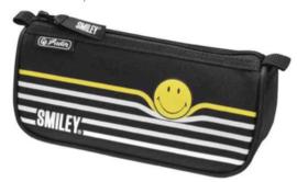 Smiley World etui zwart/wit (2811)