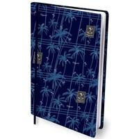 Dresz rekbaar kaft palm trees blauw A4 (0116)