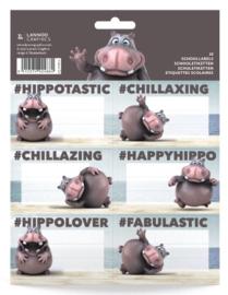 Hippotastic etiketten (4884)