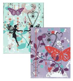 """Fashionista A5 schriften """"butterfly"""" (0123)"""