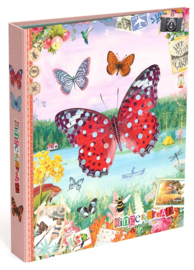 Gingerbread ringband 4r vlinder rood (1964)