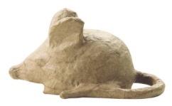 Kraft muis papier maché (1625)