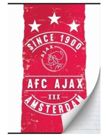 Ajax since 1900 A5 schriften gelinieerd (8153)