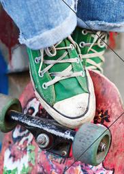 A3 Elastomap skater / skateboard (3059)