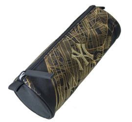 New York Yankees etui zwart rond (3032)