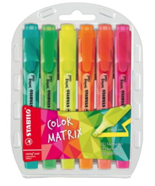 Stabilo Swing markeerstift set 6-dl (9300)