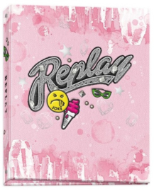 Replay girls ringband 2r roze (3744)