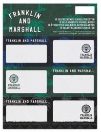 """Franklin & Marshall boy's etiketten """"groen/blauw"""" (5731)"""
