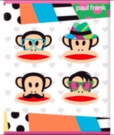 "Paul Frank girls A5 schriften ""totally hip"""