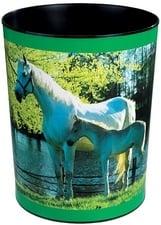 """Prullenmand """"paarden aan meer"""" (6585)"""