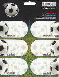 Voetbal international etiketten gras (1172)