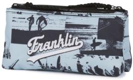 Franklin & Marshall dubbel etui lichtblauw (9169)
