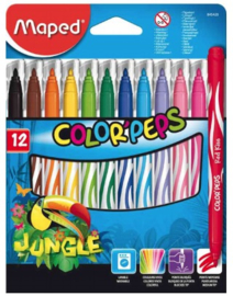 Maped viltstiften colorpeps 12-delig (4205)
