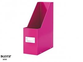 Tijdschriften cassette Leitz WOW roze