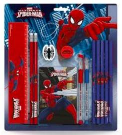 Spiderman schrijfset groot