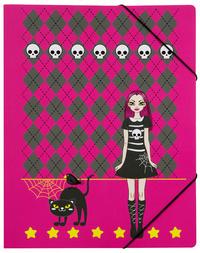 Scary girl elastomap A4 (0717)