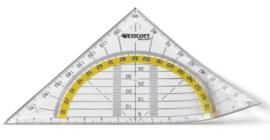 Westcott geodriehoek flexibel (2184)