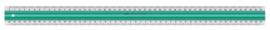 Linex S50 liniaal 50cm (1488)