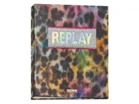 Replay girls ringband 23r panter print (2285)