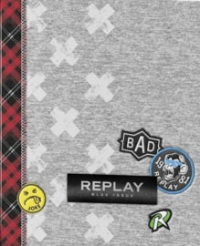 Replay boy's ringband 23r grijs (3751)