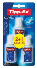 Tipp-Ex correctievloeistof 2+1 gratis (0548)