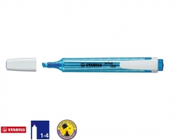 Stabilo Swing markeerstift blauw