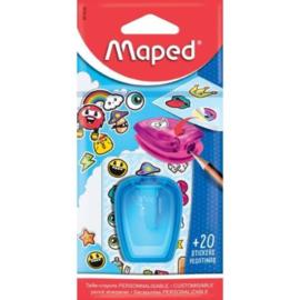 Maped stick art puntenslijper blauw