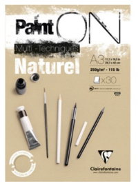 Paint On blok A3 250g beige / naturel