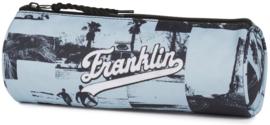Franklin & Marshall rond etui lichtblauw (9138)