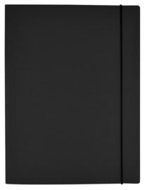 Kraft elastomap A4 zwart (2374)
