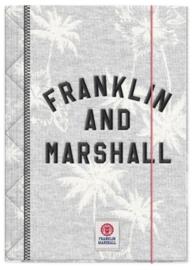 Franklin & Marshall girls A4 elastomap (5632)