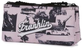 Franklin & Marshall dubbel etui roze (9176)