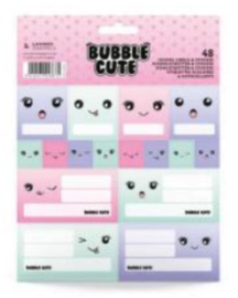 Bubble Cute etiketten & stickers (8675)