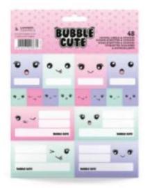 Bubble Cute etiketten (8675)