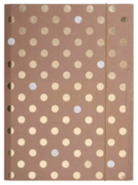 Gold dot elastomap A4 (4165)