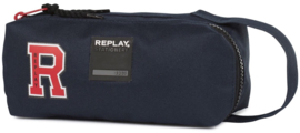 Replay boy's etui blauw recht (0431)