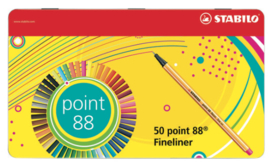 Stabilo Point 88 fineliners 50 stuks
